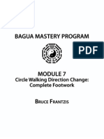 1 Circle Walking Direction Change - Complete Footwork