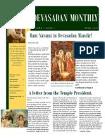 Devasadan Monthly April 2009 Issue