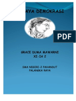 Karya Tulis Demokrasi By Grace Duma