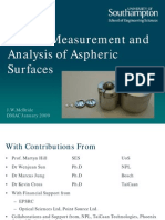The Measurement and Analysis of Aspheric Surfaces