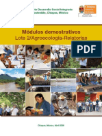 Escuela de Promotores de Campo MODULOS DEMOSTRATIVOS 1