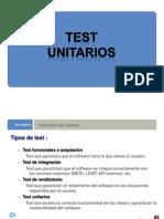 Test Unit a Rios