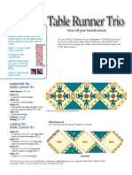 Quilt layouts