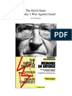 Debunking Chomsky on Israel