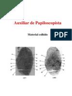 Auxiliar de Papiloscopista - Apostila