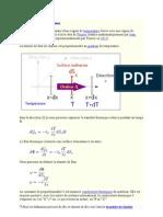 Cours Transfert thermique - Loi de Fourier .doc