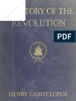 The Story of the Revolution (1898) VOL 1 - Henry Cabot Lodge
