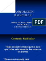 Reabsorcion Radicular