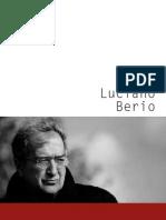 Berio Catalogue