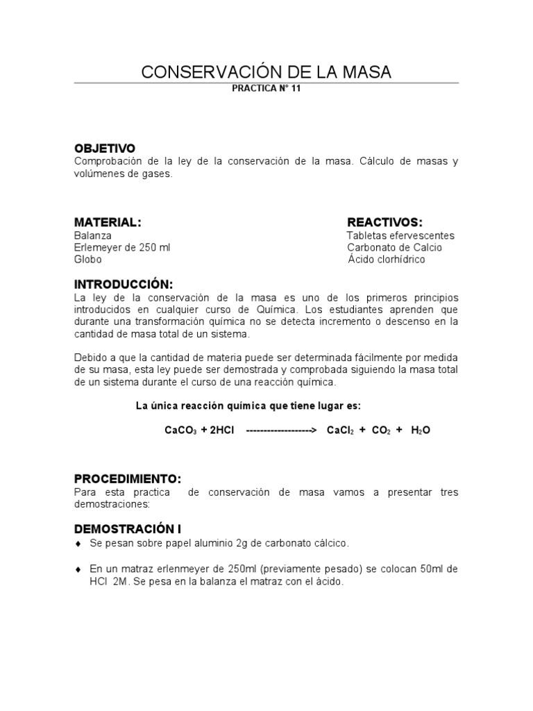 11 LEY DE LA CONSERVACION DE LA MASA.doc