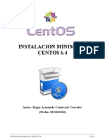 Instalación Mínima de CentOS 6.4