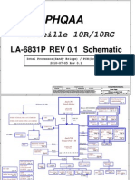 402b6 Compal Phqaa La-6831p Toshiba Satellite p750