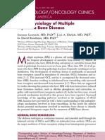 Pathophysiology of Multiple Myeloma Bone Disease