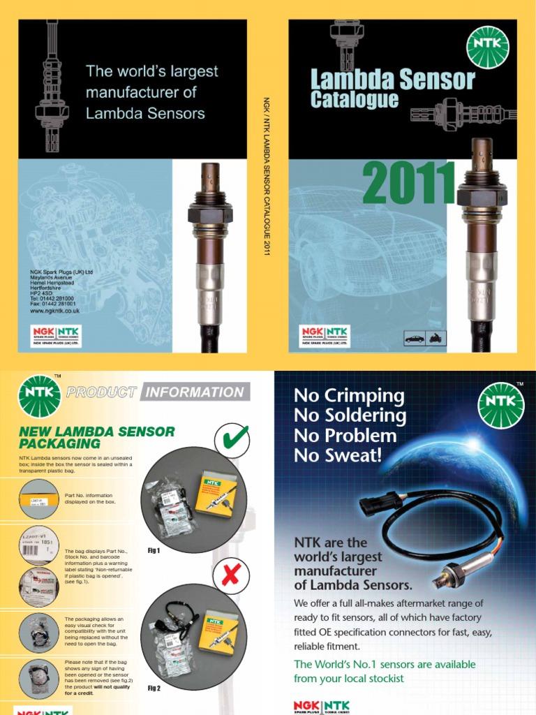 NGK 0462 Oxygen Sensor