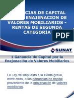 Ganancias de Capital x La Enajenaci%F3n de Valores Mobiliarios Rta 2a Categoria