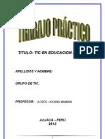 Trabajo Practico_ Tic en La Educacion Inicial