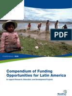 Funding Opportunities in LatinAmerica