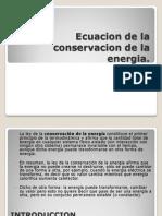 Ecuacion de la conservacion de la energia.ppt