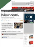 Las Guerreras solventan la clasificación en Macedonia | Balonmano | AS.com