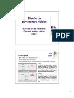 Clase Diseno Rigidos PCA