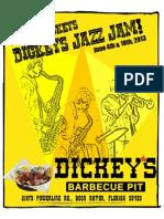 GNUStar presents Dickeys Jazz Jams for June, 2013