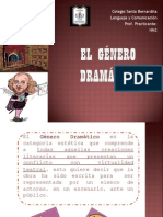 EL GÉNERO DRAMÁTICO NM2