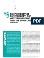 [ECFR] Periphery of the Periphery-Crisis and the Western-Balkans-Brief