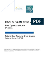 Psychological First Aid- Field Operations Guide – 2nd Edition