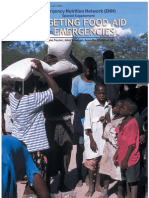 Targeting Food Aid in Emergencies