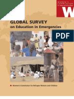 Global Survey on Education in Emergencies