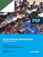 Education in Emergencies-A Resource Tool Kit