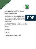 DISEÑO DE ALGORITMOS Y SU PROGRAMACION II proyecto final