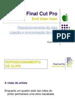 Final Cut Pro -links e reposition