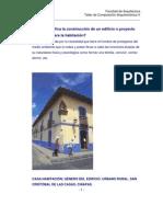 composición arquitectónica Galvan Castro Carlos