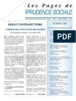 Pages de jurisprudence sociale n°21