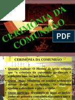 Comunhao Santa Ceia