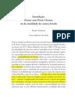 Sztutman_Pensar Com Pierre Clastres Ou Da Atualidade Do Contra-Estado