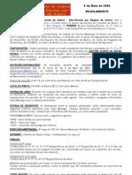 Regulamento 2 Inter-escolas Aveiro2009