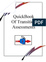 QuickBook of Transition Assessments