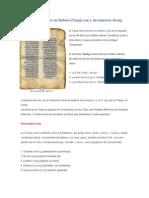 Antiguo Testamento en Hebreo_Tanaj_con y sin números strong