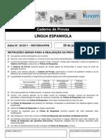 PROVA IFRN- Lingua Espanhola
