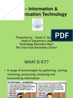 Ict Information Communication Technology