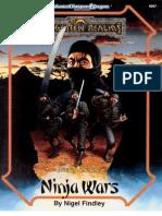 AD&D - Forgotten Realms - Oriental Adventures - Ninja Wars