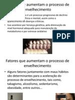 Fatores que aumentam o processo de envelhecimento.pptx