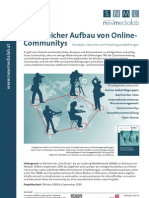 Erfolgreicher Aufbau von Online-Communitys (ComStudy Teil 1)