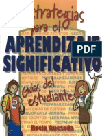 Quesada Rocío - Estrategias para el Aprendizaje Significativo, Guías del Estudiante
