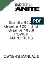 Soundstream 180.6 Amplifier Manual