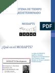 Estudio de Trabajo II exposición MODAPTS