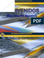 PRESENTACION Materiales No Metalicos
