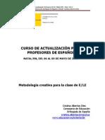 Metodología creativa para la clase de ELE - Metodología creativa para la clase de ELE - Cristina Albertos Díez